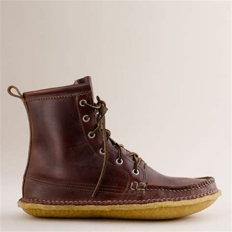 quoddy grizzly boot j crew mens quoddy 174 grizzly boots in brown for