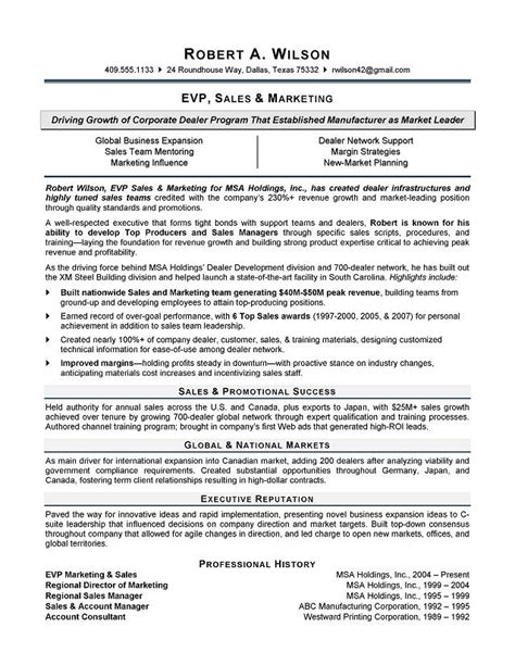 Resume Bio Exle by Bio Resume Exles 28 Images Executive Biography Exle