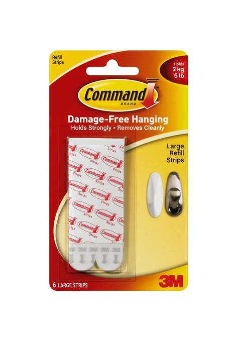 command strips 6 x 3m command large poster picture adhesive hanging
