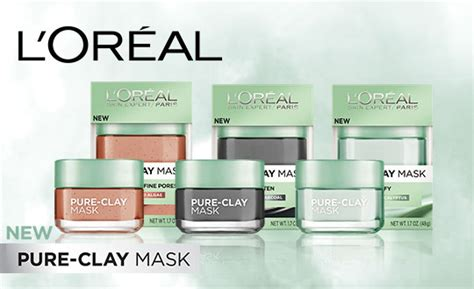 L Oreal Clay Mask l or 233 al clay mask bzzagent reviews reports
