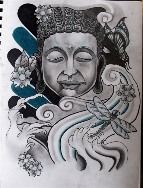 buddha head tattoo buddha design ideas