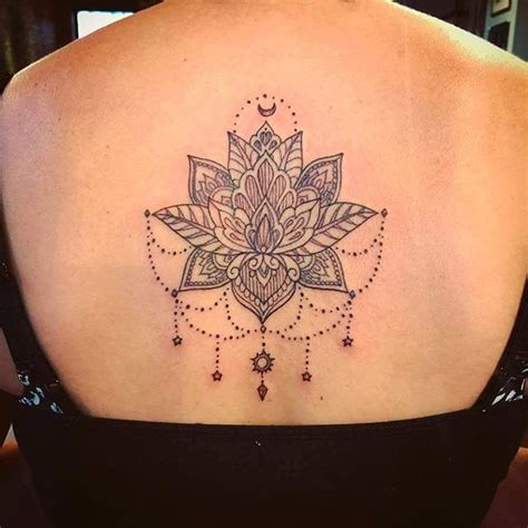 mandala back tattoo mandala flower on foot pictures to pin on