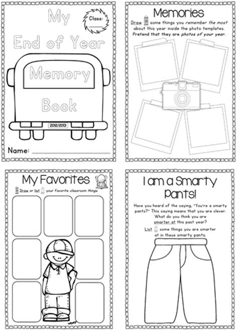 Last Day Of School Free Photo Posters Clever Classroom Blog Free Printable Memory Book Templates