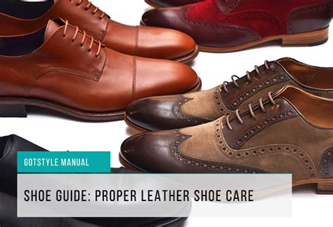 leather shoe guide proper shoe care and maintenance