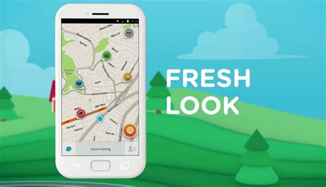 waze for android waze 4 0 for android brings new look improved driving experience and more