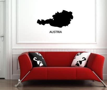 Auto Sticker Bestellen österreich by Wandtattoos 214 Sterreich Wandsticker Austria Wandtattoo