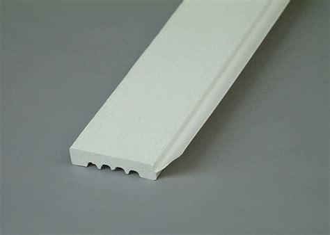 garage door stop moulding moisture proof foam decorative moldings 8ft length white