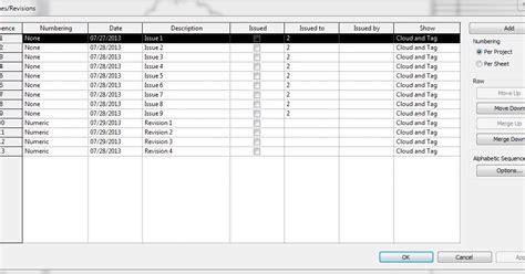 revit tutorial getting started revit tutorial having two unique revision schedules that