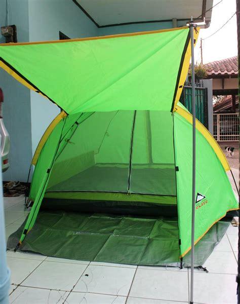 Tenda Kapasitas 4 Orang jual tenda cing elite layer kapasitas 4 orang woles outdoor store