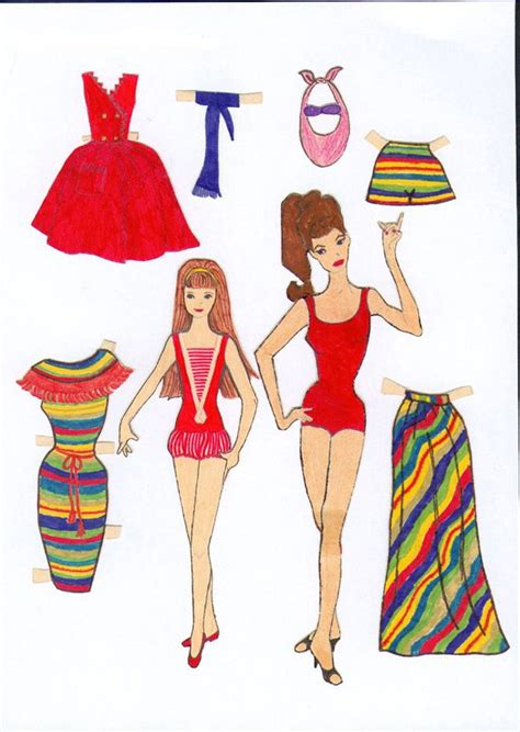 How To Make Paper Dolls And Clothes - pin by suzanne on paper dolls