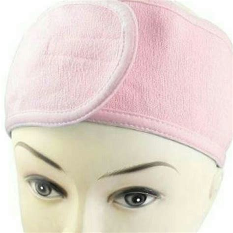 by terry makeup buy by terry makeup shopfitness 54 off other pink elastic terry cloth spa headband