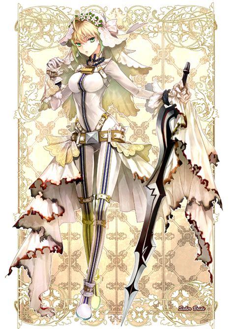 Pvc Anime Fate Stay Fate Ccc Saber Dress Ver saber saber fate image 1280196 zerochan anime image board