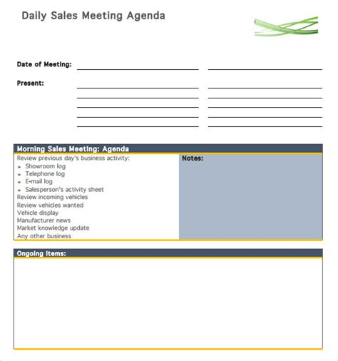agenda planner template agenda planner template 5 free documents in