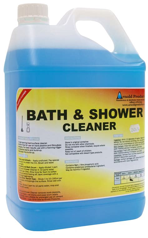 bath shower cleaner arnold products limited