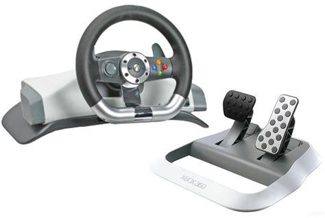 volante e pedaliera xbox 360 xbox 360 original lenkrad racing steering wheel mit