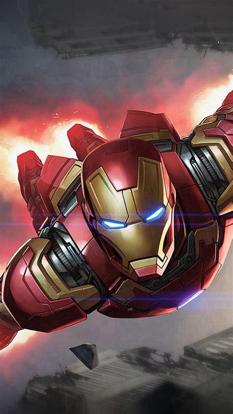 ironman hero marvel illustration art iphone