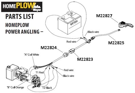 myers plow wiring diagram orange myers snow plow