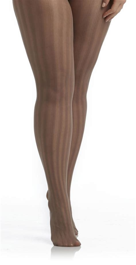 patterned tights control top attention women s sheer control top tights striped