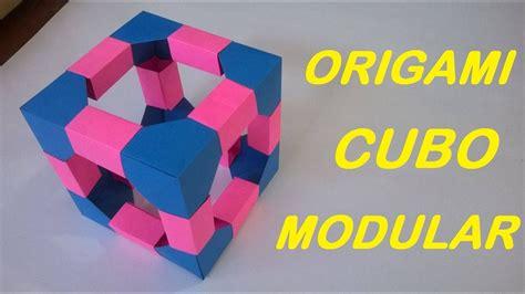 Origami Modular Cube - origami cubo modular origami modular cube