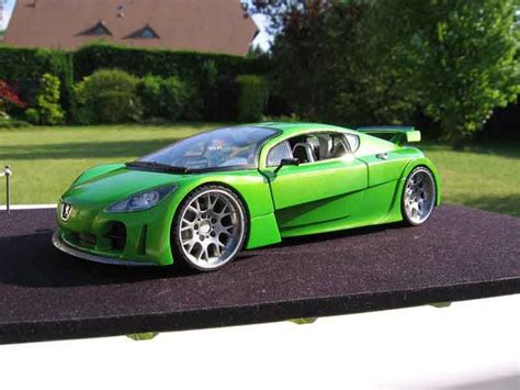 Rsc Auto Tuning by Peugeot Rc Concept Car Tuning Solido Modellini Auto 1 18
