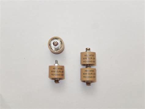 doorknob capacitor 200pf hec ht50 80pf 5kvdc 5 doorknob capacitors lor of 1pcs ebay