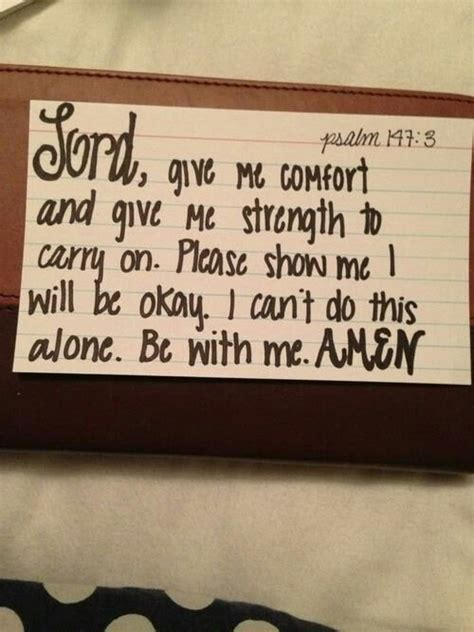 Bible Verse About Comfort And Strength by Comfort And Strength Child Of God