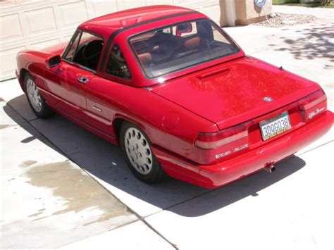 service manual 1993 alfa romeo spider driver airbag removal instructions 1993 alfa romeo 1993 alfa romeo spider veloce s4 57k miles 5speed for sale alfa romeo spider s4 1993 for sale