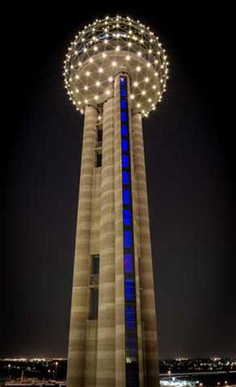 reunion tower in dallas   tour texas