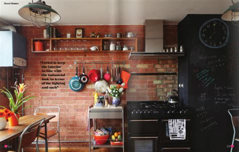 industiral and rustic loft kitchen by snaidero digsdigs industrial kitchen design cool industrial kitchen designs