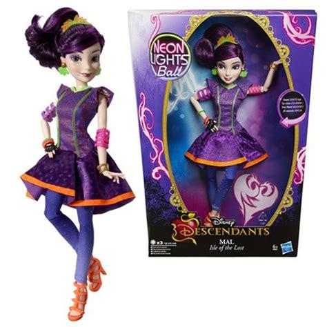 Disney Descendants Neon Lights Mal Isle Of The Lost Doll