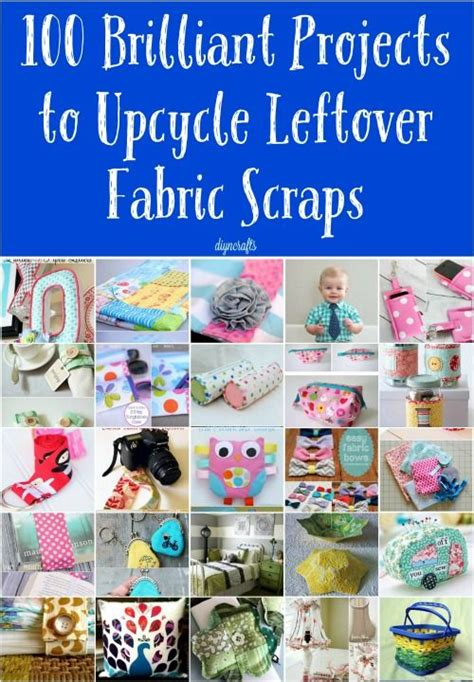 5 Brilliant Ideas To Make Best 25 Leftover Fabric Ideas On Crafts With
