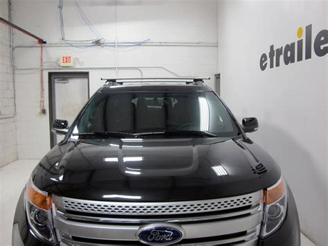 Ford Explorer Roof Rack by Thule Roof Rack For 2013 Ford Explorer Etrailer
