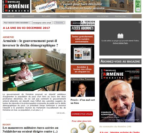 sites about comadpp armenews com les nouvelles d arm 233 nie magazine