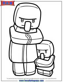 minecraft zombie pigman coloring pages coloring