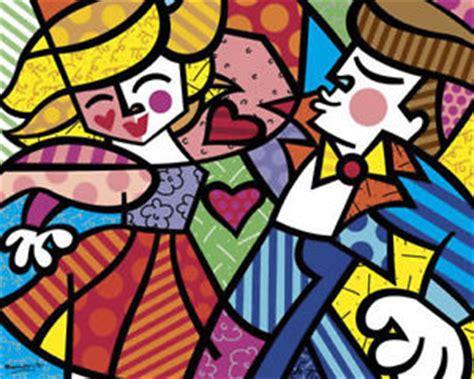 musica swing famosa pop print swing by romero britto