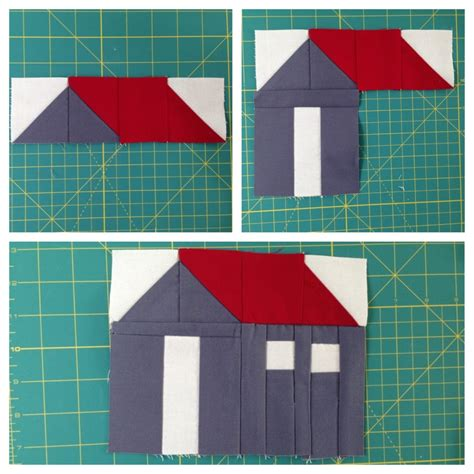 House Quilt Block by Almost Gling Our Journey To Build A Tiny House