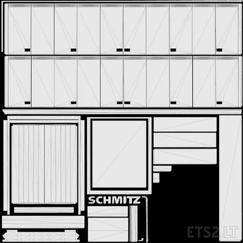 Template For Rommi Tz Schmitz Trailer Ets 2 Mods Trailer Templates Free