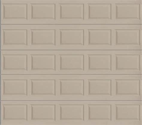 10x10 Insulated Garage Door by Ideal Door 174 10 Ft X 10 Ft 4 Sandtone Raised Pnl