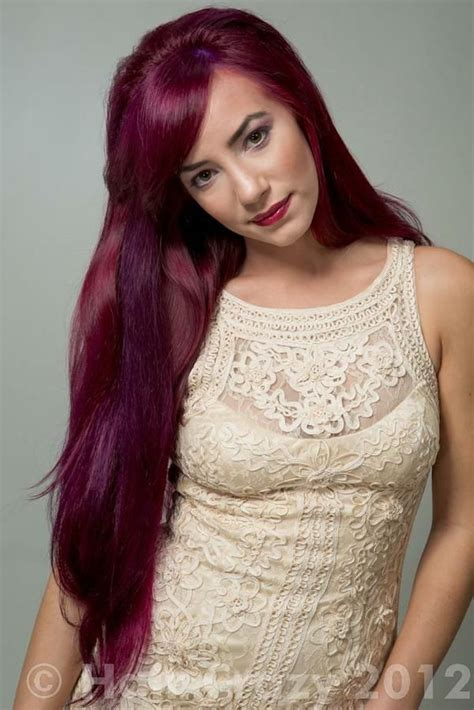 red plum hair 3 on pinterest 89 pins manic panic vire red on unbleached hair google search