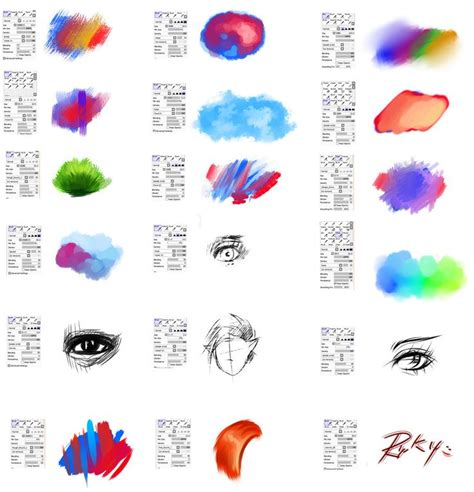 paint tool sai zauberstab 30 best images about brushes on watercolor