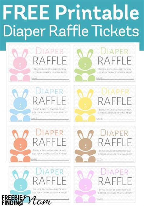 baby shower raffle template 25 best ideas about printable raffle tickets on