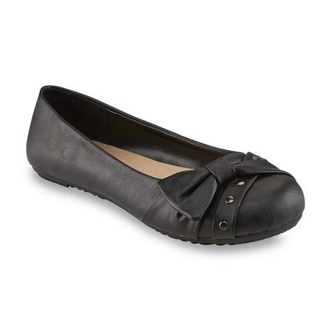 sears flat shoes bongo s black casual flat shop your way