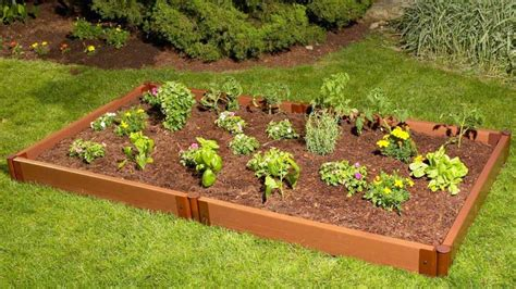vegetable garden raised vegetable gardening with raised beds corner