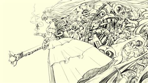 Sketches Wallpaper by Wallpapercraze