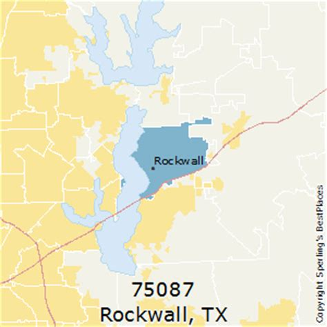 rockwall texas map best places to live in rockwall zip 75087 texas