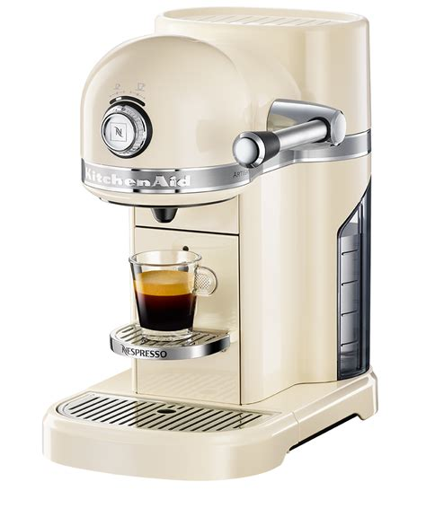 The Kitchen Collection Store Locator by Kitchenaid Almond Cream Coffee Machine Nespresso