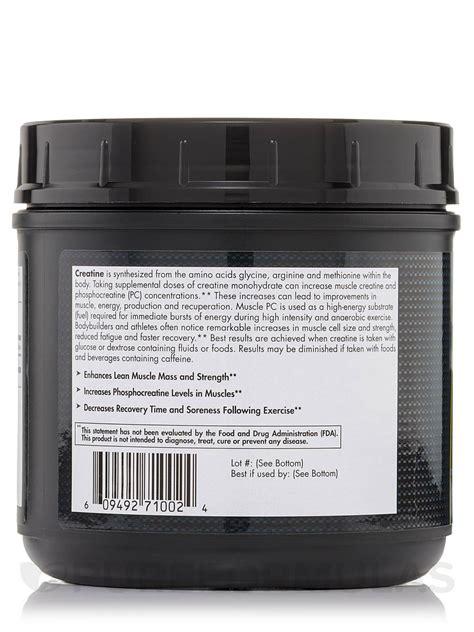creatine 2 5 grams creatine monohydrate micronized 1 1 lbs 500 grams