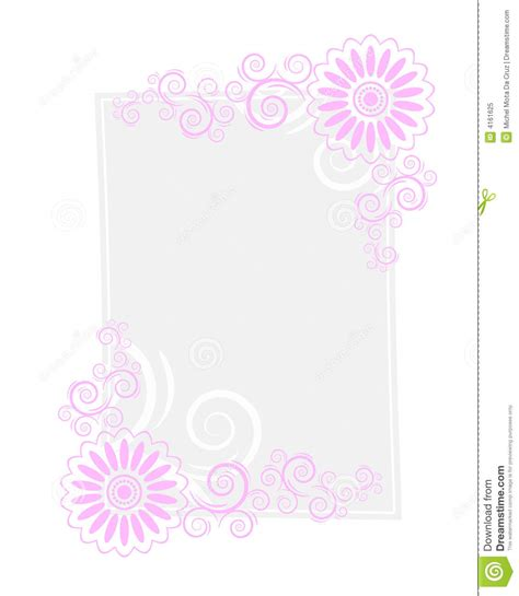 paper letter frame royalty free stock photo image 4161625