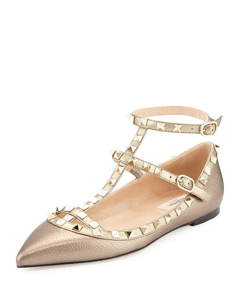 Casey Ballerina Flat 4 by The Best Valentino Rockstud Shoe Styles Skipping In
