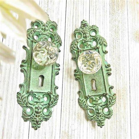Door Knob Curtain Tie Backs by One Curtain Tie Back Curtain Tieback Door Plate Door Knob